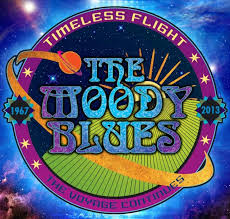 Timeless Flight is a Moody Blues retrospective, available now.