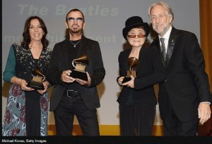 The Beatles won a Lifetime Achievement Grammy this week.