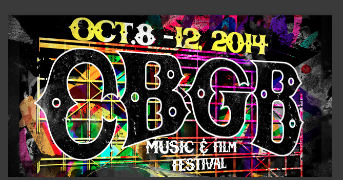 CBGB Music and Film Festival Oct. 8-20th