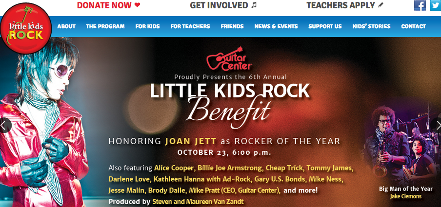 Joan Jett honored with concert