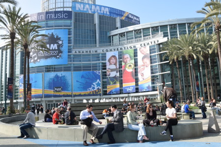 NAMM Show in Anaheim: Musicians, Products...