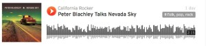 Peter Blachley talks Nevada Sky - Interview by Donna Balancia