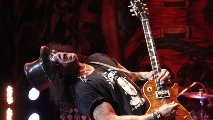 Slash - ECR photo courtesy of Grammy