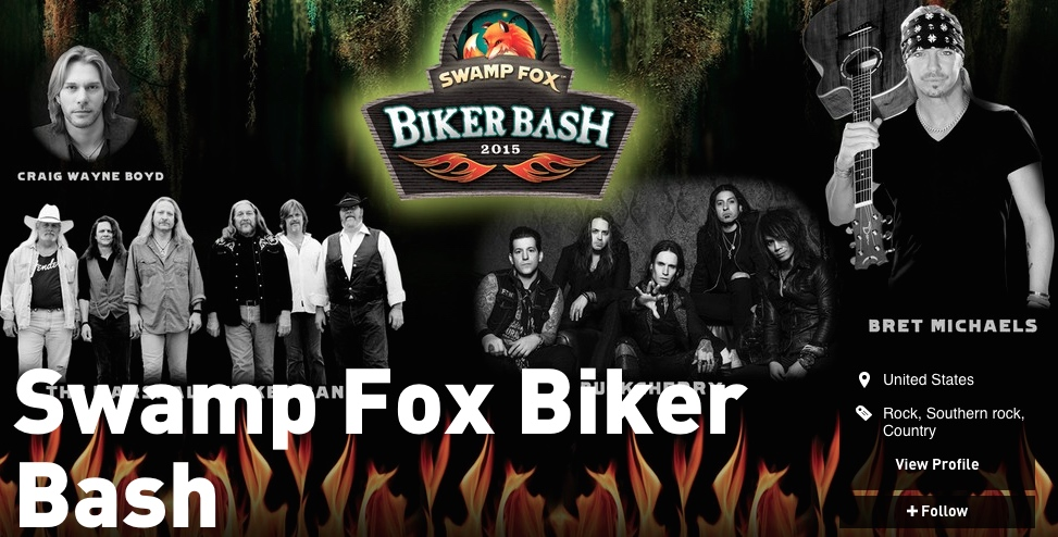 Swamp Fox Biker Bash - East Coast Rocker