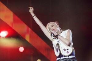 Gwen Stefani of No Doubt - Photo © 2015 Donna Balancia
