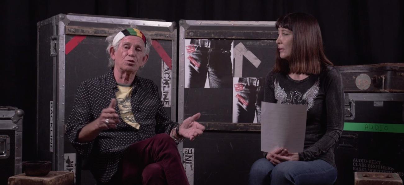 Keith Richards #AskTheStones