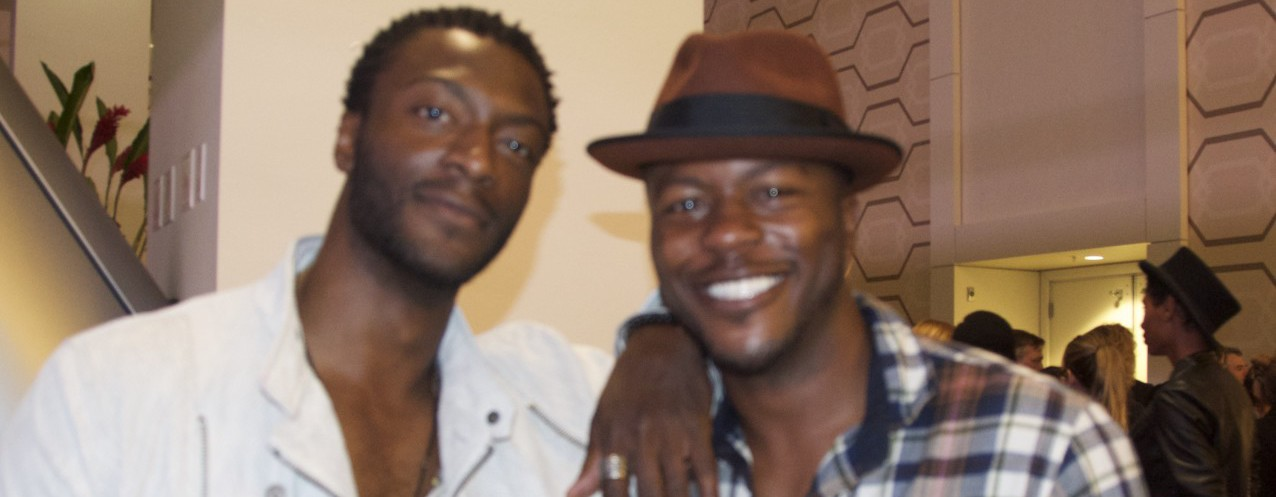 Aldis Hodge, Edwin Hodge talk to CaliforniaRocker -Donna Balancia
