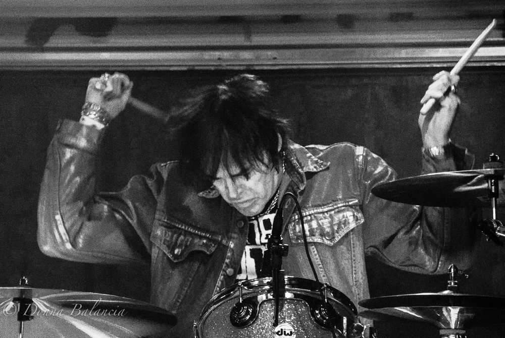 Richie Ramone is enjoying life with his band, writing music and living in So Cal - Photo © 2015 Donna Balancia