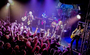 Guns N Roses reunion at The Troubadour in LA - Photo courtesy Ross The Bassist