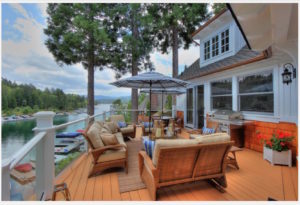 Brian Wilson's Lake Arrowhead Getaway - Photo courtesy CB Skyridge