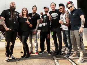 Five Finger Death Punch for East Coast Rocker