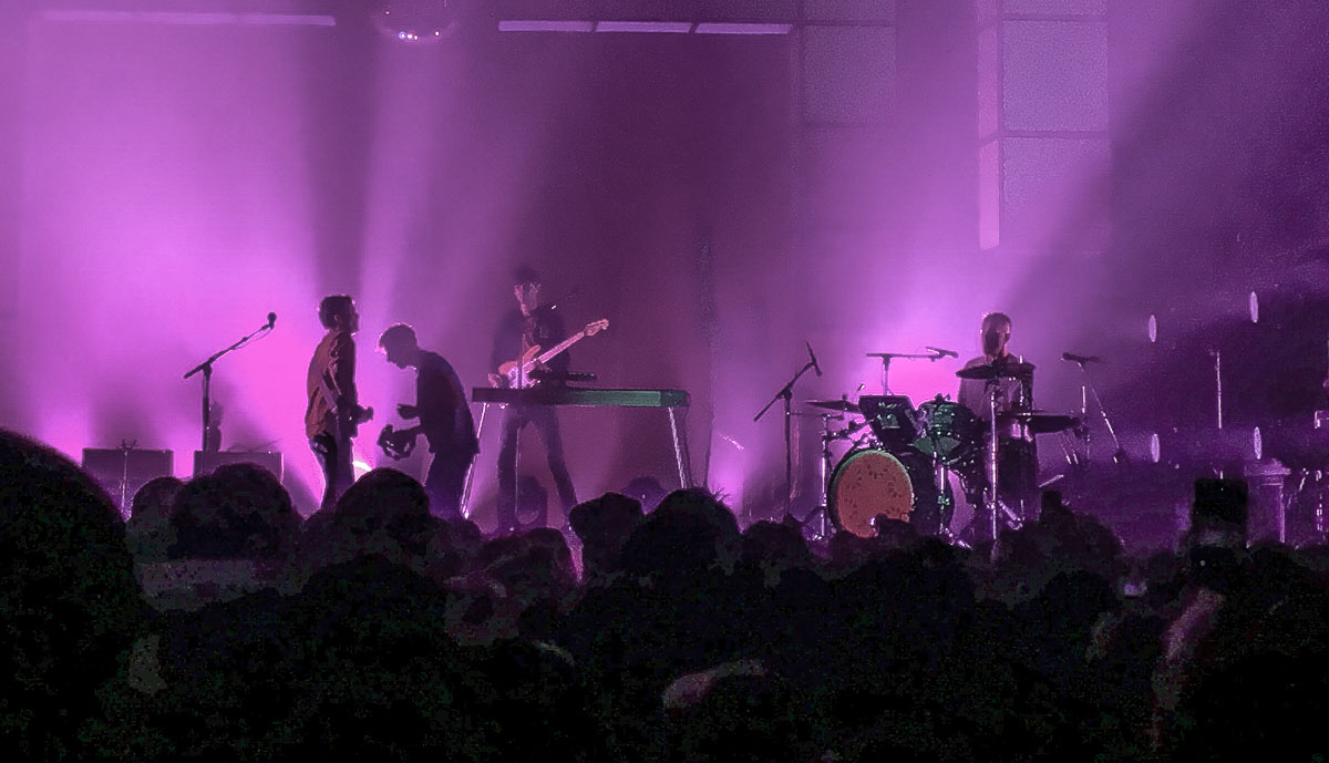 Glass Animals - Photo by Bailey Mullins for East Coast Rocker
