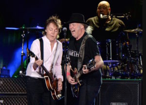 Paul McCartney and Neil Young - Kevin Mazur for Desert Trip
