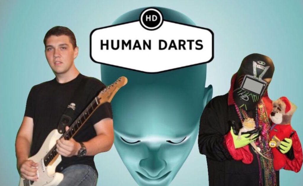 The Human Darts have released the new EP, Explicit Thoughts - Photo courtesy of the Human Darts