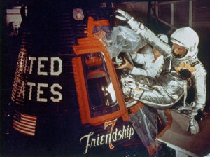 John Glenn in 1962 - Courtesy of NASA