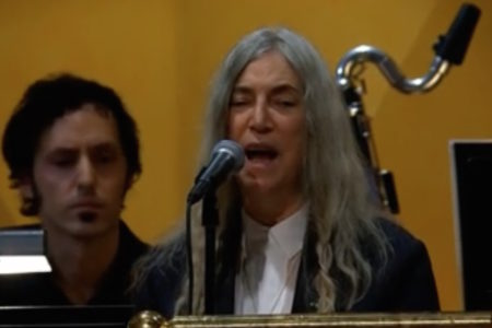 See Patti Smith Perform Bob Dylan's...