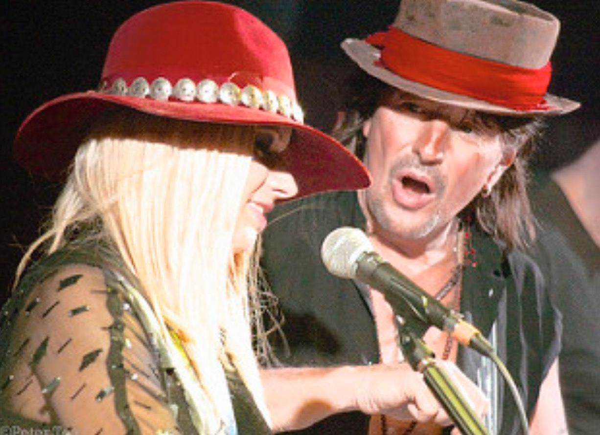 RSO: Richie Sambora and Orianthi - Photo by Peter Tea