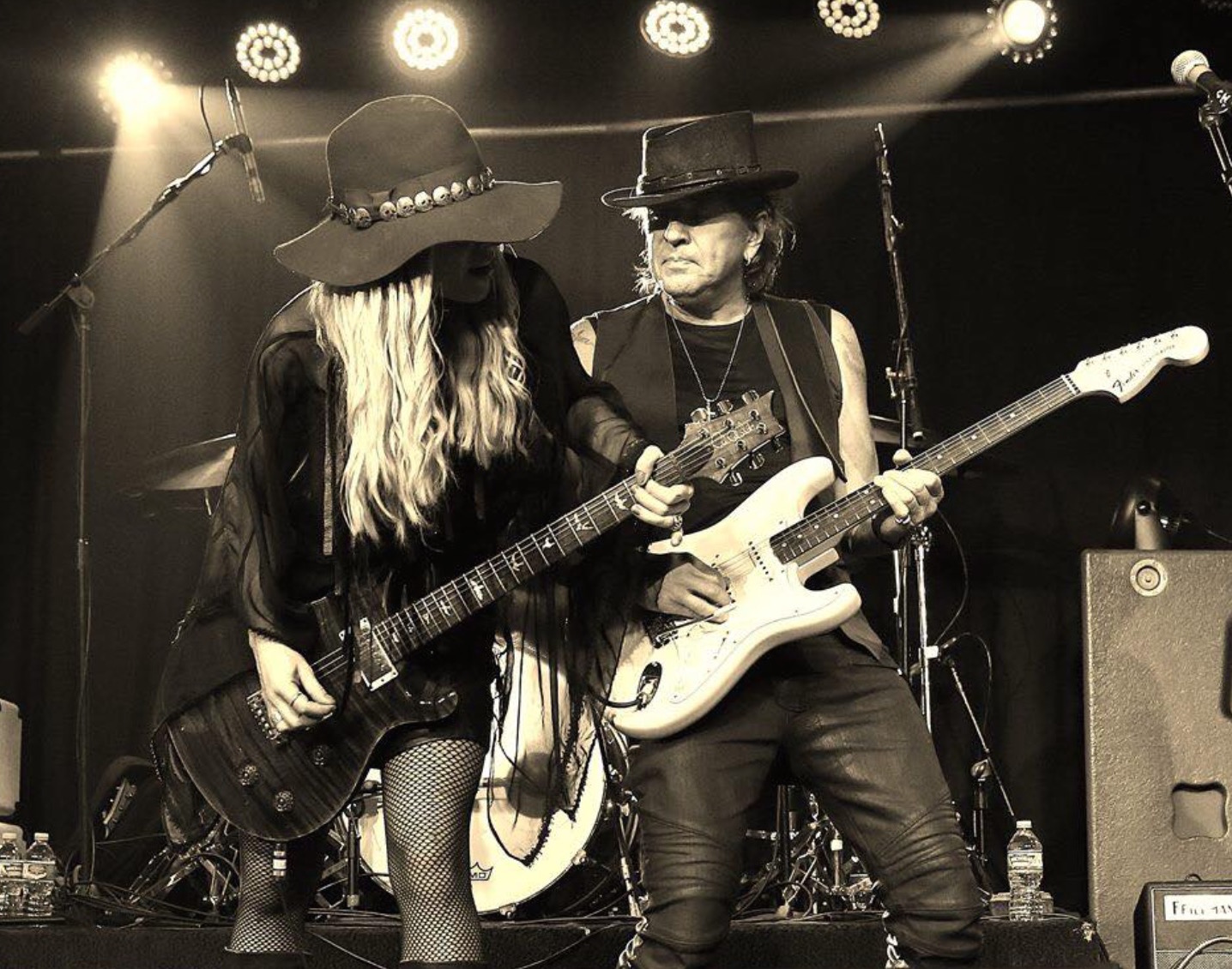 RSO: Richie Sambora and Orianthi will play center stage at NAMM - Photo courtesy of RSO
