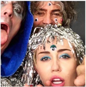 Miley Cyrus and Wayne Coyne - Photo courtesy of OceanUp