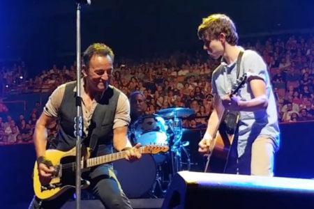 Bruce Springsteen Calls Australian Teen Nathan...