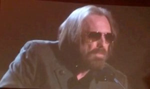 Petty proudly wears sunglasses at night - Photo courtesy Libby Kaufman