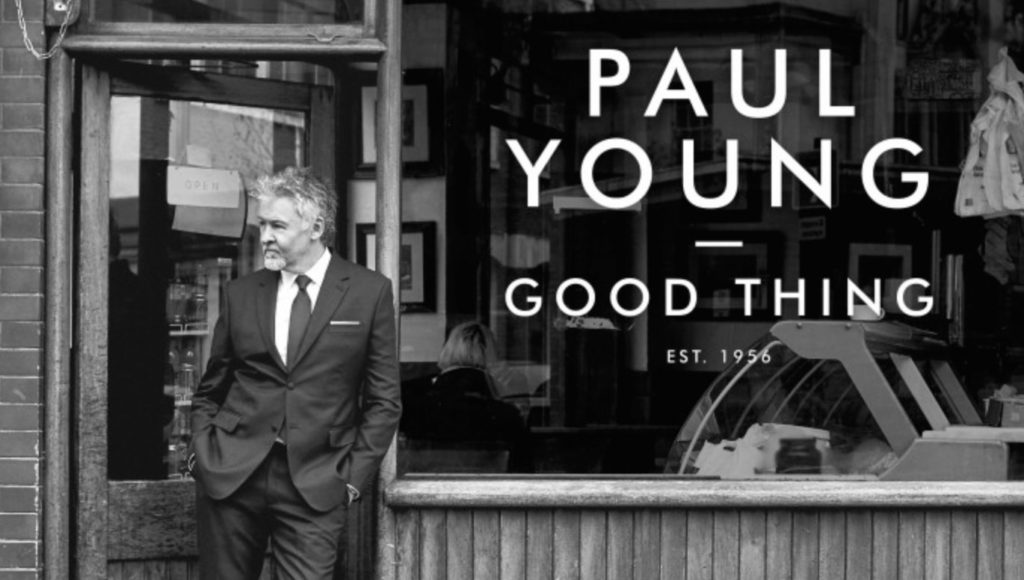 'Good Thing' is Paul Young's latest work - Photo courtesy Paul Young for EastCoastRocker.com