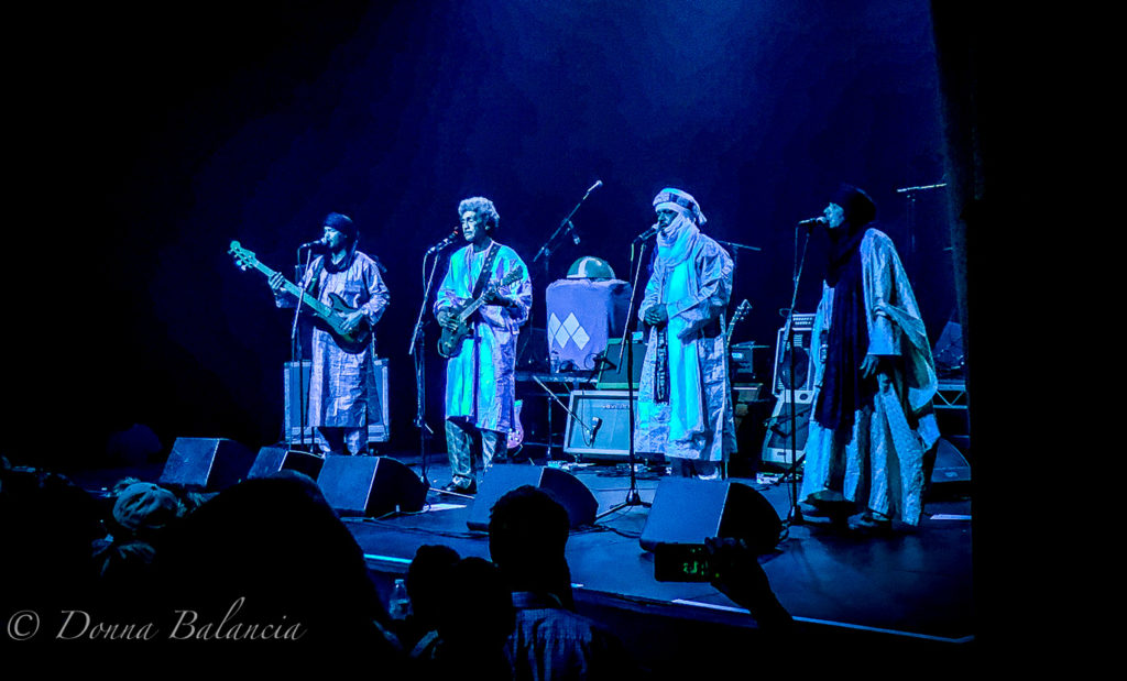 Tinariwen: Beautiful music as a result of hardship - Photo © 2017 Donna Balancia