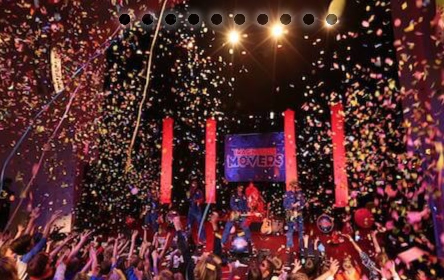 Imagination Movers show has no shortage of confetti - Imagination Movers image