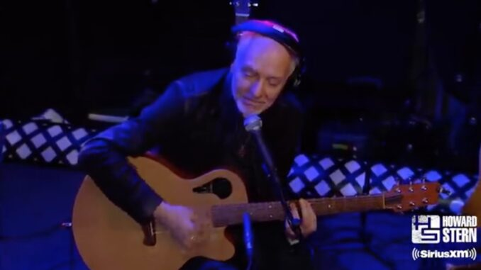 Peter Frampton on Howard Stern - Courtesy