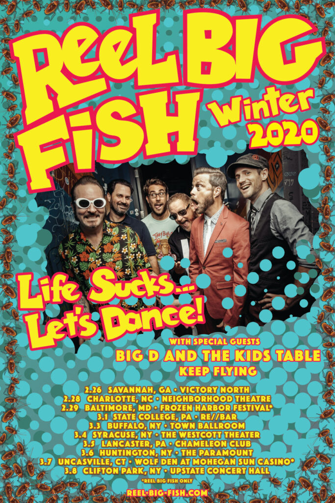 Reel Big Fish Tour 2020 East Coast Rocker