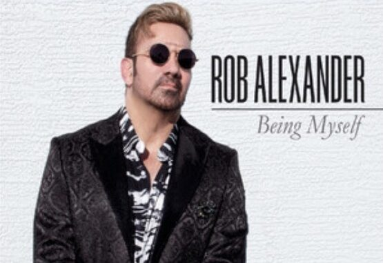 Rob Alexander album cover Being Myself