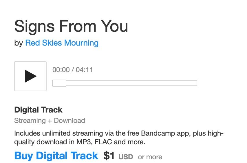 Signs From You on Bandcamp
