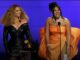 Beyonce Looks Admiringly at 'Savage' Partner Megan Thee Stallion - Courtesy GRAMMYs