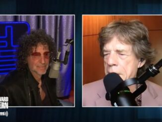 Howard Stern and Mick Jagger - Courtesy SiriusXM